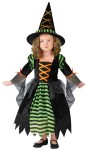 "Miss Witch Child Costume - Cute and colorful dress with hoop and matching hat. Also available in Toddler Size: <a href=""/miss-witch-toddler-costume-grp-123fw110681.aspx"">fw110681</a>."