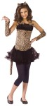"Wild Cat Child Costume - Leopard print dress has a net skirt, tail, and cat ear headpiece. Also available in Teen Size: <a href=""/wild-cat-teen-costume-grp-123fw110703.aspx"">fw110703</a>."