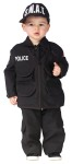 Authentic SWAT Toddler Costume - Official looking shirt, pants, SWAT vest, and ball cap. We aim to protect!