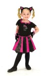 "Cat Sweetheart Toddler Costume - Hot pink and black dress has mitts and cat ear headpiece. Also available in Child Size: <a href=""/cat-sweetheart-child-costume-grp-123fw114102.aspx"">fw114102</a>."