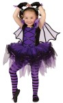 Batarina Toddler Costume - Includes tutu dress with matching batwings, glovelets and bat ear headband.