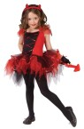 "Devilina Child Costume - Lovely ballerina-style costume in red and black, with mitts, headpiece, and tail. Also available in Toddler Size: <a href=""/devilina-toddler-costume-grp-123fw114271.aspx"">fw114271</a>."