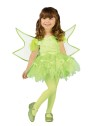 Ballerina Fairy Toddler Costume - Cute ballerina-style dress with wings and mitts.
