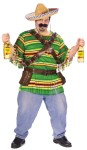 "Tequila Pop N Dude Adult Costume (Plus Size) - This is one partying dude! Striped top, sombrero, bandolier belt, shot glasses and tequila holster belt. Simply supply your own tequila bottles. Pants and shoes not included. Plus size 48-53. Also available in Adult Size: <a href=""/tequila-pop-n-dude-costume-grp-123fw119434.aspx"">fw119434</a>."