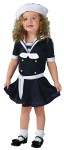 "Sea Sweetie Toddler Costume includes blue sailor dress with white accents and <span id=""lblDescription"">includes a white sailor hat. Charming! </span> Also available in Child Size: <a href=""/sea-sweetie-child-costume-grp-123fw120762.aspx"">fw120762</a>."