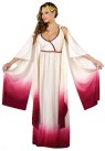 Venus Goddess Of Love Adult Costume - Includes fading cream to burgundy full length gown with drape sleeves, low cut front and traditional headpiece. Also available in Plus Size (see style FW120905)
