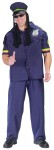 "Way High Patrolman Adult Costume - Are you way high? Now you can be. Shirt, pants, and hat with dreadlocks. One size 33-45. Available in Plus Size: <a href=""/way-high-patrolman-adult-costume---plus-size-grp-123fw130175.aspx"">FW130175</a>."