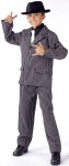 Gangster Child Costume - Includes pinstripe jacket, pants and dickie with tie.