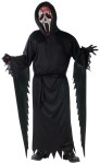 "Zombie Bleeding Ghost Face Child Costume - Black hooded robe comes with belt, mask, gloves, and hand-held pump with blood. Also available in Adult Size: <a href=""/zombie-bleeding-ghost-face-adult-costume-grp-123fw130484.aspx"">fw130484</a>."