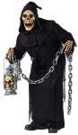 "Grave Ghoul Adult Costume - Creepy ghoul has robe, mask with hood, a tattered overcoat, and gloves. Also available in Child Size: <a href=""/grave-ghoul-child-costume-grp-123fw130512.aspx"">FW130512</a> & Plus Size: <a href=""/grave-ghoul-adult-costume---plus-size-grp-123fw130515.aspx"">FW130515</a>."