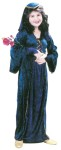 Juliet Child Costume - Velvet Dress, cap with veil, sleevelets.