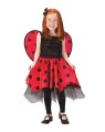 Lady Bug Child Costume - with attached matching wings. *Shoes and tights not included.