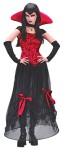 Goth Bloodstone Vamp Adult Costume - Sexy sheer costume includes: dress with velvet satin gothic thorn bodice and sheer, ribbon-tie skirt, sheer hoop underskirt, sleveletes and choker with attached vampire satin collar.