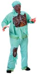 "<span id=""lblDescription"">Zombie Doctor Adult Plus Size Costume includes Shirt with exposed rotted chest, pants 