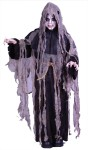 Reaper Gauze Child Costume - Includes: Hooded Robe with guaze, tattered collar, rotted look gauze over robe and belt.