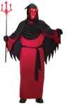"Emperor Of Darkness Child Costume - This is the old Horned Red Man himself…Includes Robe, chest drape with velcro, gloves and belt.  Horns and trident not included. Also available in Plus Size: <a href=""/EMPEROR-OF-DARKNESS-ADULT-COSTUME---PLUS-SIZE-Grp-123FW5755.aspx"">FW5755</a>."