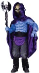 Skeleterror Child Costume - Includes: Muscle Shirt, Gloves, Belt, Hooded Cape, Mask and Boot Tops.