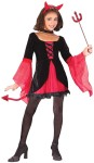 Sweetie Devil Child Costume - Includes two-tone dress, tail and devil horn headpiece. *Pitchfork, tights and shoes not included.