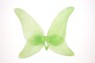Beautifully colored nylon Butterfly Wings. Ties around body and packaged in a poly bag with full color header. 28 W x 29 H Adult Size