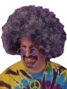 Super Afro Wig (Black W/Grey) - This two-color blend of black and grey gives you a super bushy afro look. Simply add your 60s style glasses and youre COOL MAN!