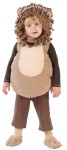 Lion Toddler Costume - Soft velour vest with matching embroidered character hood and feet. Fits up to 24 months.
