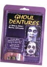 Big Bubba Ghoul Teeth - This is the perfect item for that scary zombie or ghost look!!! These dentures will make you look as though youve never in your life brushed your teeth and all you eat is dirt!
