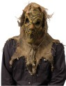 Scarecrow Mask - Very scary full over the head mask. Latex burlap look face mask surrounded by real burlap. This is one very horrific, realistic mask.