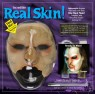 Super realistic to the eye and to the touch, these appliances are remarkably comfortable and lightweight. Real Skin masks allow for a full range of facial expressions and allow you to eat, drink, and enjoy Halloween in maximum comfort. Each kit includes facial appliance, blending makeup, spirit gum adhesive, spirit gum remover, makeup pencil, 2 sponges and a brush.