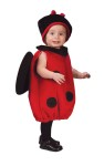 Plush body vest and matching hat with attached antennae. Fits up to 24 months.
