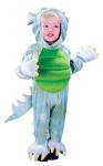 Includes: Hooded Dragon Jumpsuit witth attached feet, tail and gloves. Toddler 6 - 12 months.