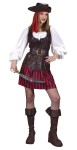 Includes: Vest-Look Blouse, Skirt, Belt, Boot Tops, Bandana and Hat.