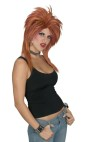 Rocker Wig - Halloween express wig.