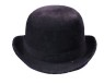 Nice quality black felt derby. Medium or large.