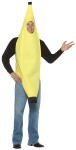 Banana Adult Costume - Over the head tunic with face hole. One size fits most adults.