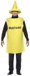 Mustard Adult Costume - Whats ketchup without mustard! Tunic with coordinating hat. One size fits most adults.
