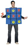 Tic Tac Toe Board Adult Costume - Fun for all! Board vest, 5 Xs and 5 Os that will stick to your costume.