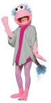 Fraggle Rock Mokey Adult Costume - Head, body, gloves, stockings, and shoe covers.
