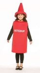 Ketchup Child Costume - Everyones favorite condiment! Tunic with coordinating hat.