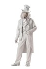 "Ghostly Gent Adult Costume - <span id=""lblDescription"">Coat, vest with attached shirt sleeves, pants,