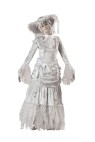 "Ghostly Lady Adult Costume - Tattered full length gown, tulle petticoat, hat, gloves and wig. Large fits bust 37-39.5, waist 29-31.5, and hips 39.5-42; Medium fits bust 35-36.5, waist 27-28.5, and hips 37.5-39; Small fits bust 33-34.5, waist 25-26.5, and hips 35.5-37; X-large fits bust40-43, waist 32-35, and hips 42.5-45.5. Also available in Plus Size: <a href=""/ghostly-lady-adult-costume---plus-size-grp-123ic5015-plus.aspx"">ic5015-plus</a>."