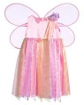 Ribbon Fairy Toddler Costume - Ribbon Fairy costume comes with an adorable and highly detailed ribbon dress and pink wings. Headband not included.