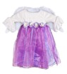 Winged Angel Toddler Costume - Beautiful shimmering dress with flower embellishments and a pair of detachable wings.