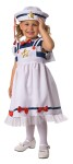 Sweet Sailor Toddler Costume - Sweet Sailor comes with a beautiful sailor dress with star and bow embellishments and oh so cute sailor.