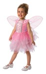 Raindrop Fairy Toddler Costume - Pixie Fairy includes a pretty and soft fairy dress with lots of fluff in the skirt and a pair of wings.