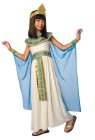 Cleopatra Child Costume - Cleopatra comes with an elegant long dress with attached sequin belt, sequin collar and attached cape with wrist cuffs. Its topped off with a headpiece fit for a queen!