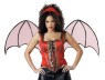 These accessory kits are theCATS MEOW.  Includes: corset, loop & hook attachable wings and corresponding headpieces.