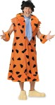 Includes jacket, tie, cuffs, wig and latex feet to fit over your shoes. * THE FLINTSTONES and all related characters and elements are Trademarks and Copyright of Hanna-Barbera (s 06). STD 36-46 & XL 46-48.