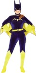 Quality velvet bodysuit with cape, belt, headpiece and glovettes. *Trademark and Copyright of DC Comics.