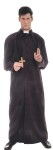 Costume includes: Full length button front gown with detachable capelet