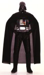 Darth Vader Child Costume - STAR WARS™ Jumpsuit with boot tops attached. Includes chest piece, cape and mask. Light sabre not included.